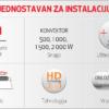 KONVEKTOR F119 500W Elektro Vukojevic5