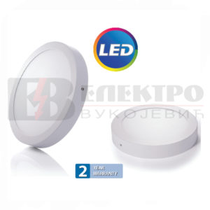 LED Panel Nadgradni 18W Okrugli FI 240mm Elektro Vukojevic
