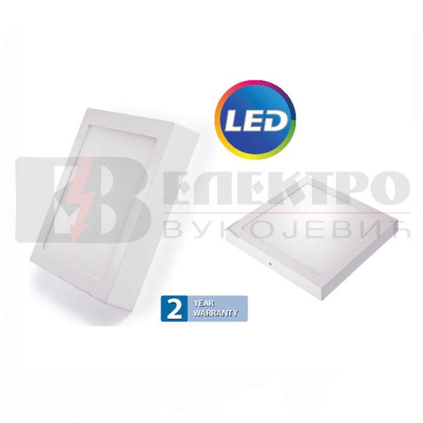 LED Panel Nadgradni 12W Kvadratni 168x168mm Elektro Vukojevic