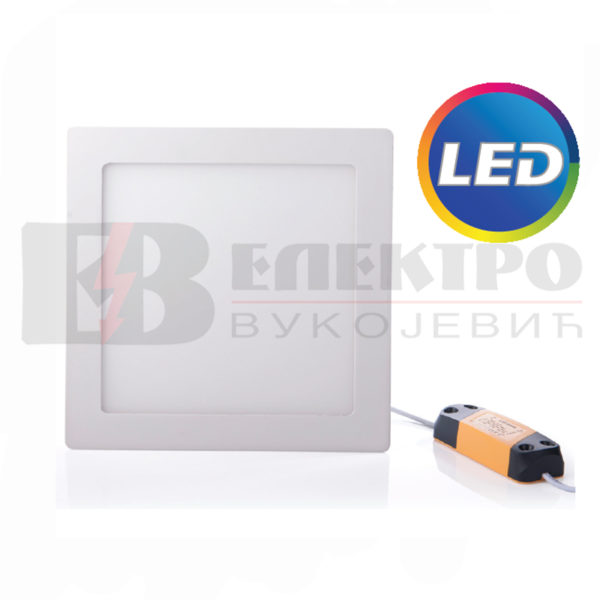 LED Panel Ugradni 12W Kvadratni 175x175mm Elektro Vukojevic