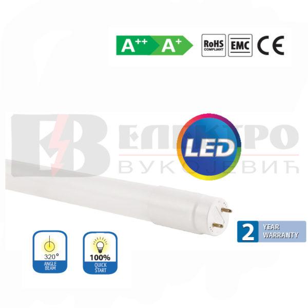 LED T8 cijev 20W 6500K 120 cm Elektro Vukojevic