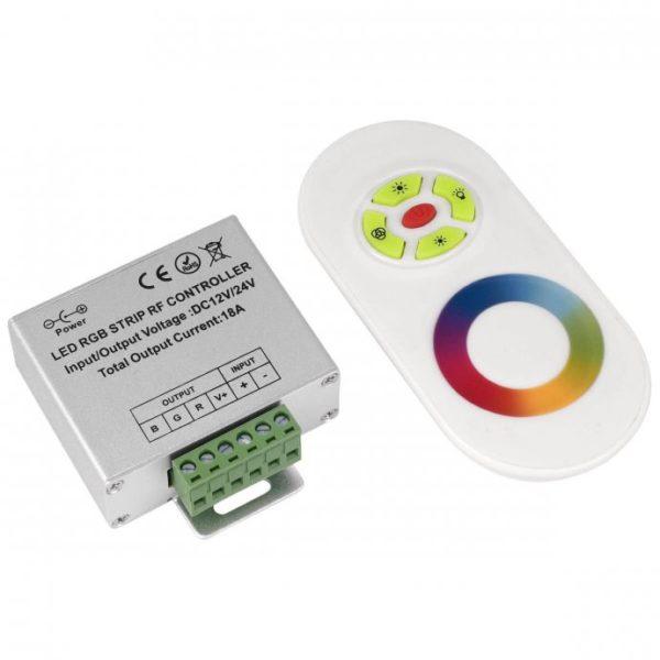 rf-kontroler-daljinski-touch-led-trake-rgb-dimmer-18a-216w-12-24v-slika-45481861