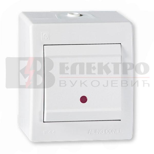 Prekidač-Sklopka jednopolna sa indikacijom 10A Elektro Vukojevic