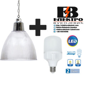 Industrijska visilica HL 510 ARES + LED sijalica E27 20W Elektro Vukojevic