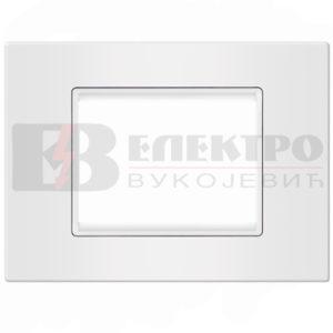 Maska bijela 4M sa bijelim nosacem Elektro Vukojevic