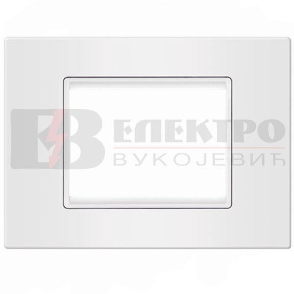 Maska bijela 7M sa bijelim nosacem Elektro Vukojevic