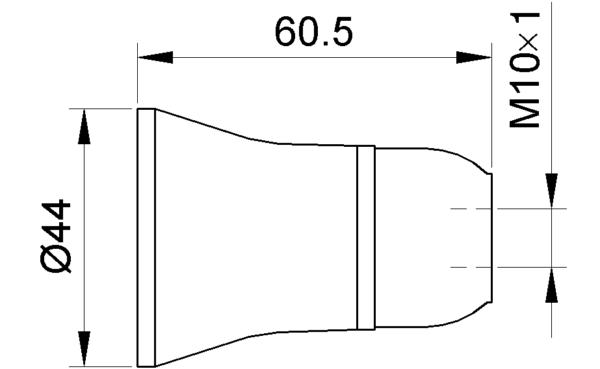 Sijalično grlo bakelitno E-27 bez prstena shema Elektro Vukojevic