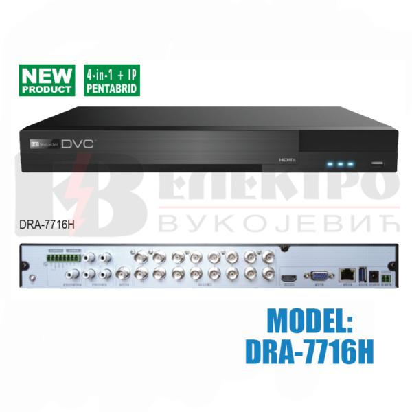 Video snimač 16-kanalni  AHD 3.0  – 4K HDMI