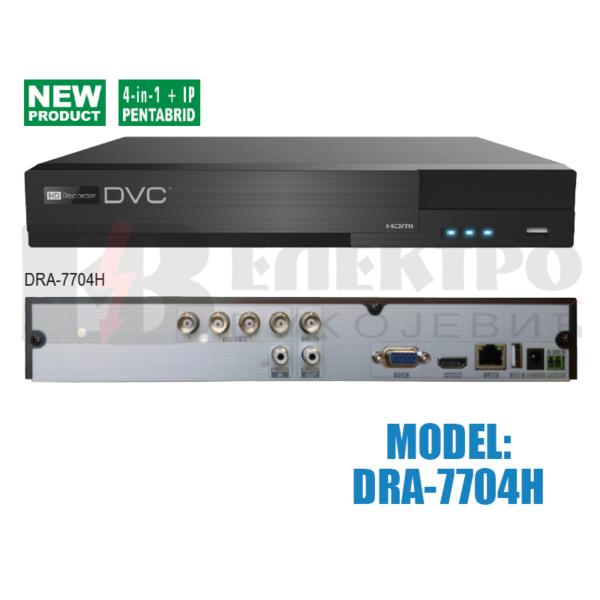 Video snimač 4-kanalni  AHD 3.0  – 4K HDMI