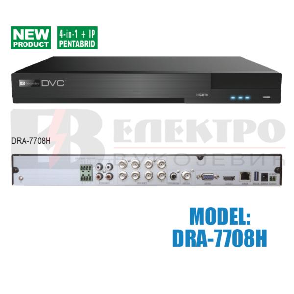 Video snimač 8-kanalni  AHD 3.0  – 4K HDMI
