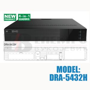 32-kanalni 4-in-1 quadbrid AHD 2.0 snimač