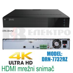 32 kanalni mrežni snimač 4K HDMI 8 Mpx