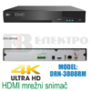 8 kanalni mrežni snimač 4K HDMI 8Mpx