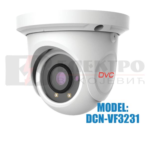 Dome IP video kamera rezolucije 2Mpx