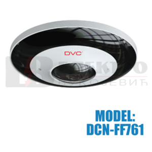 Fisheye IP video kamera rezolucije 6Mpx