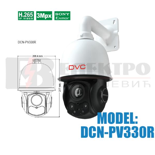 Upravljiva IP mrezna kamera 3 Mpx
