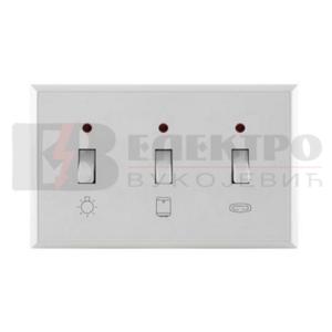 Indikator horizontalna sklopka za kupatilo 16AX/250V