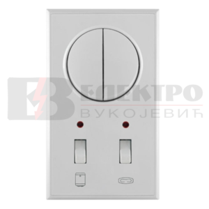 Indikator vertikalna serijska sklopka za kupatilo 16AX/250V