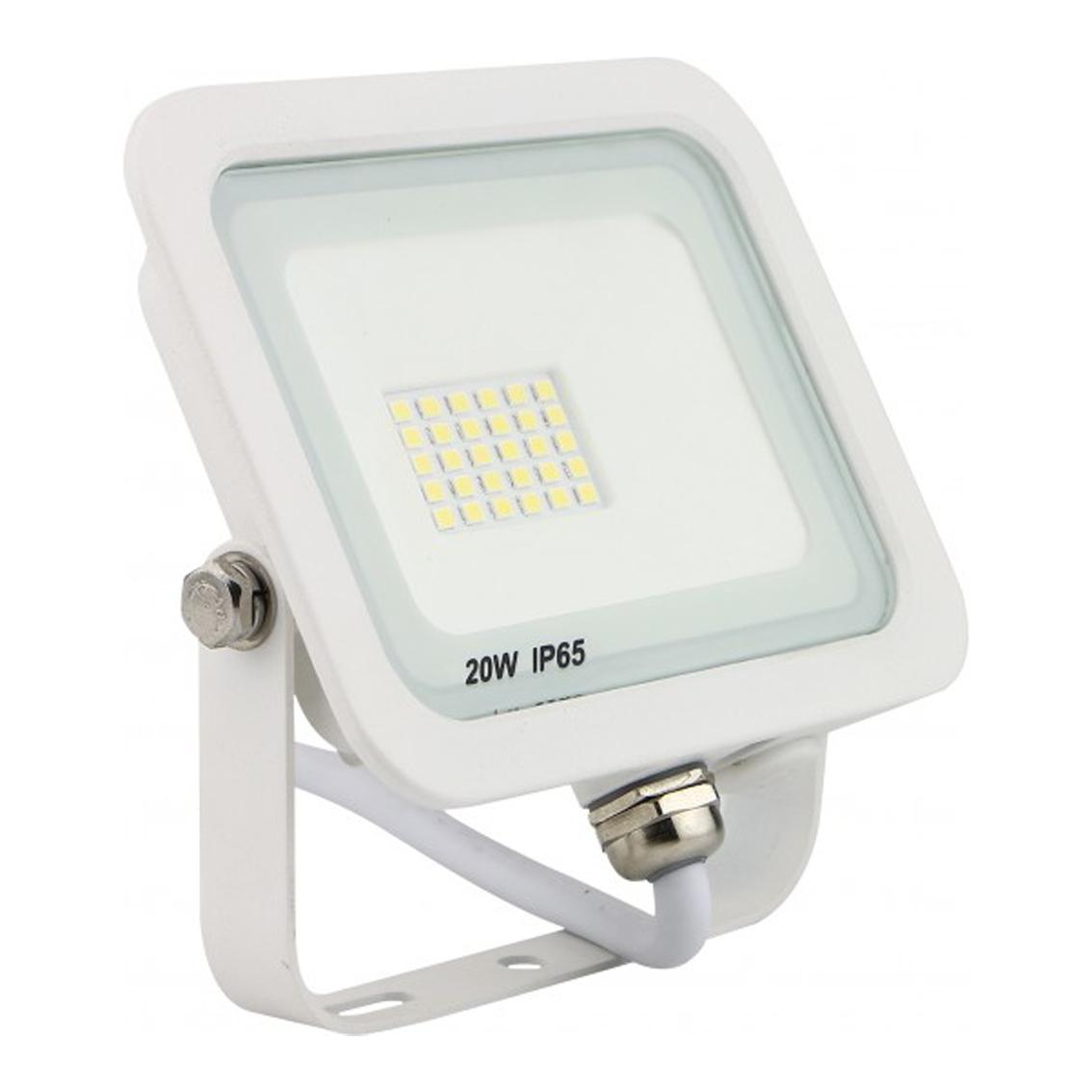 SMD LED reflektor 20W 6500K 1600lm Bijeli Mitea Elektro Vukojevic