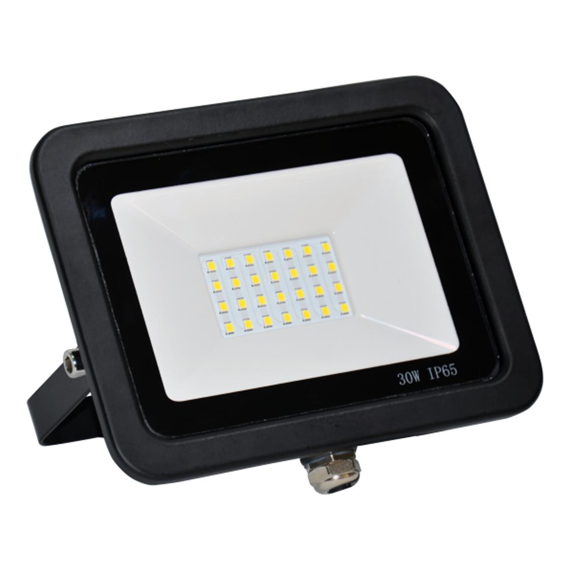 SMD LED reflektor 30W 3000K 2400lm Crni Mitea Elektro Vukojevic