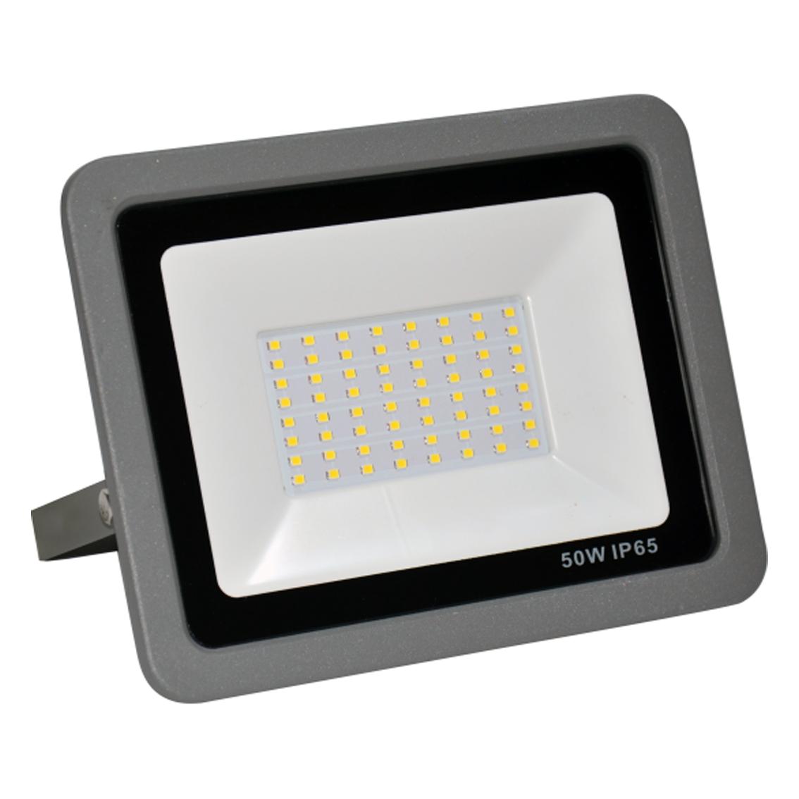 SMD LED reflektor 50W 6500K 4000lm Sivi Mitea Elektro Vukojevic