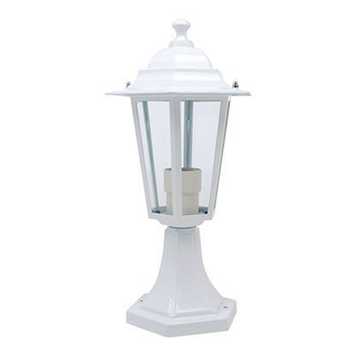 Vrtna lampa svjetiljka bijela E27 ERGUVAN HL271 Horoz Elektro Vukojevic